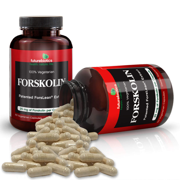 Futurebiotics Forskolin Bottles and Supplements