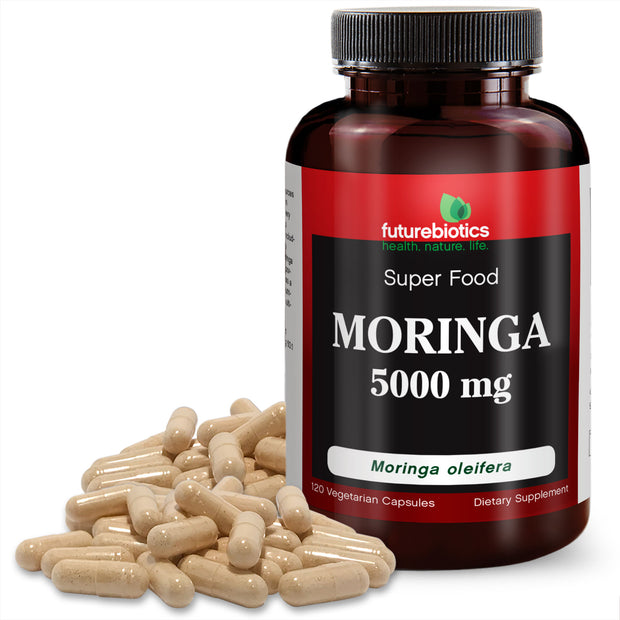 Futurebiotics Moringa 5000mg, 120 Capsules