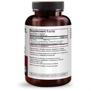 Back View of Futurebiotics Tart Cherry 2500mg Bottle