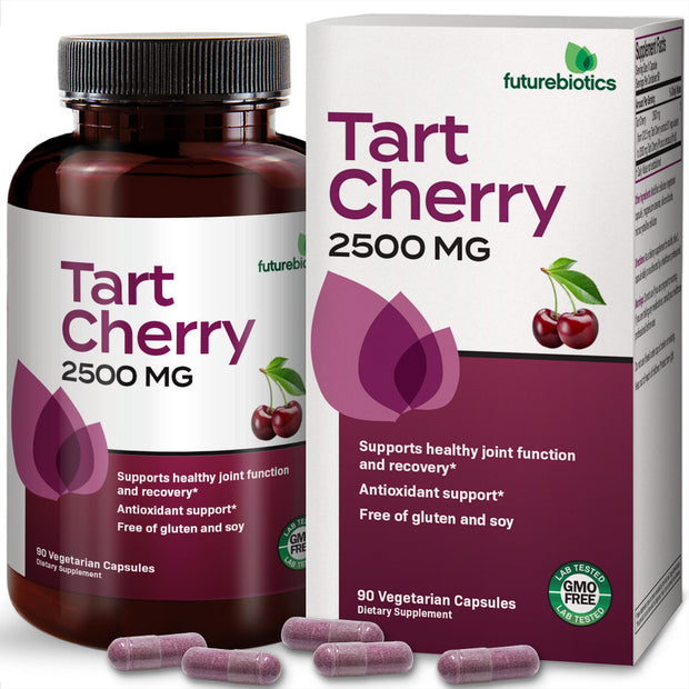 Side View of Futurebiotics Tart Cherry 2500mg Bottle
