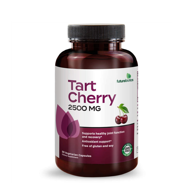 Front View of Futurebiotics Tart Cherry 2500mg Bottle
