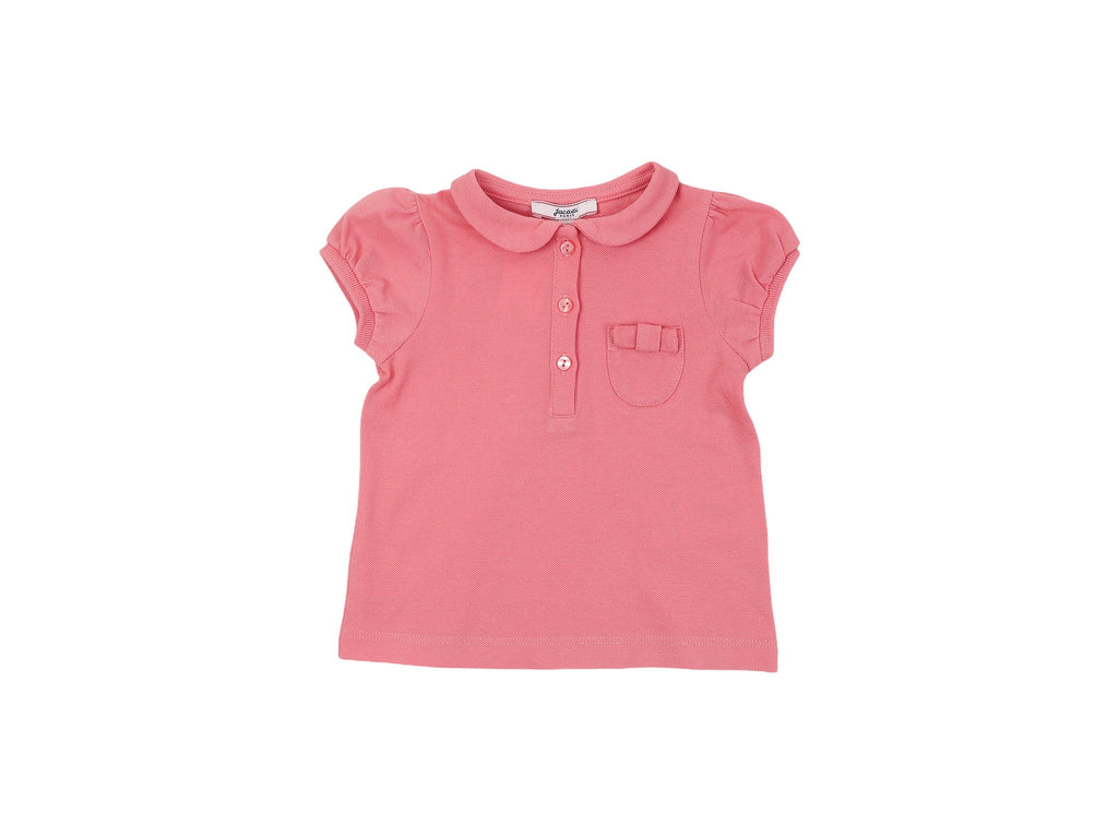 Mini Lama - Pre-loved Pink Polo 12 months by JACADI