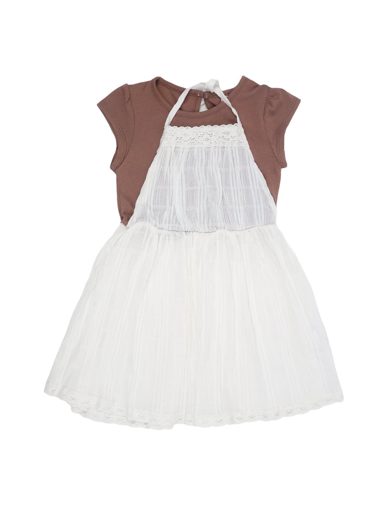 Mini Lama - Pre-loved White Dress 5 years by PUELLA FLO