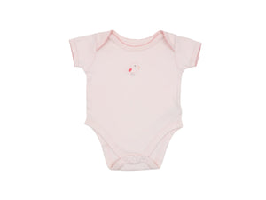 Mini Lama - Pre-loved Pink Bodysuit 3 months by MOTHERCARE