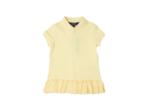 Mini Lama - Pre-loved Yellow Polo 5 years by POLO BY RALPH LAUREN