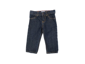 Mini Lama - Pre-loved Blue Trousers 9 months by OSHKOSH