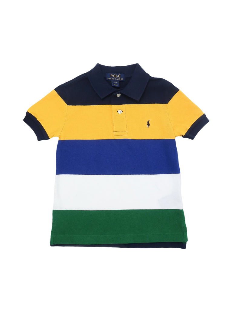 Mini Lama - Pre-loved Multi-colour Polo 4 years by POLO BY RALPH LAUREN