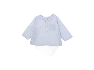 Mini Lama - Pre-loved Blue Bodysuit 6 months by JACADI