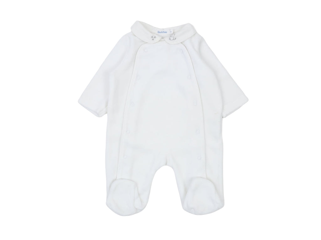 Mini Lama - Pre-loved White Pyjamas Newborn by BOUT'CHOU