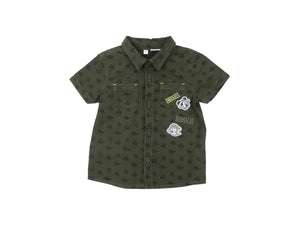 Mini Lama - Pre-loved Green Shirt 9 months by DISNEY