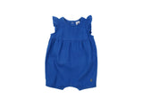 Mini Lama - Pre-loved Blue Romper 3 months by PETIT BATEAU