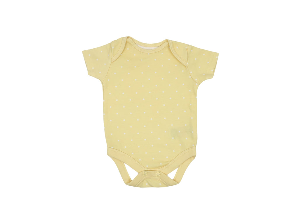 Mini Lama - Pre-loved Yellow Bodysuit 1 month by MOTHERCARE