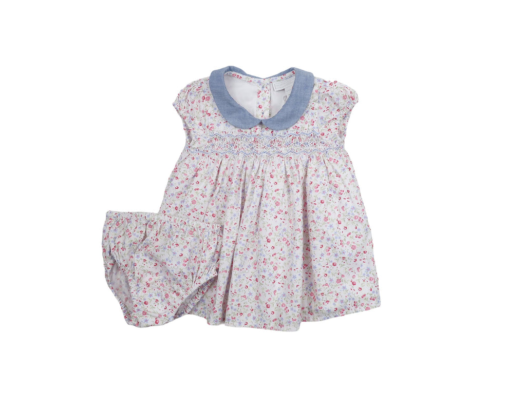 Mini Lama - Pre-loved Multi-colour Dress 1 month by THE LITTLE WHITE COMPANY