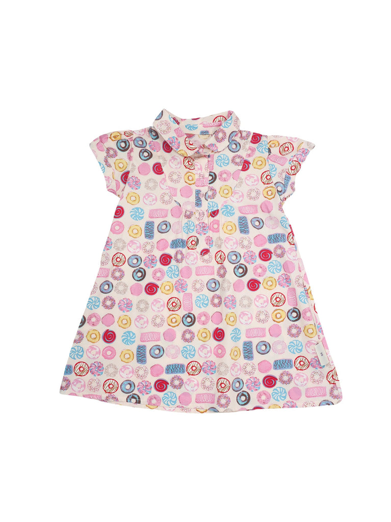 Mini Lama - Pre-loved Multi-colour Dress 12 months by LITTLE FAIRY