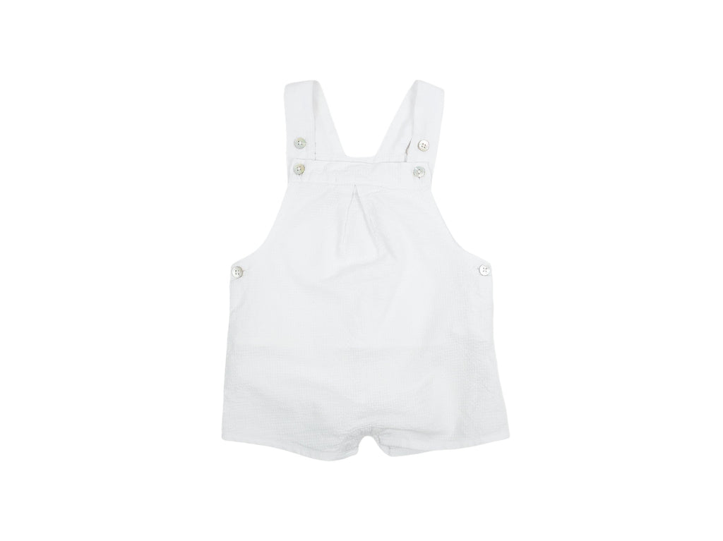 Mini Lama - Pre-loved White Overall 6 months by NATALYS