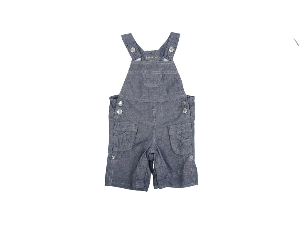 Mini Lama - Pre-loved Blue Overall 6 months by TAPE A L'OEIL