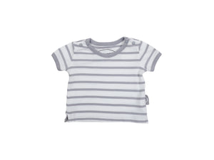 Mini Lama - Pre-loved Grey T-shirt 3 months by CHÂTEAU DE SABLE