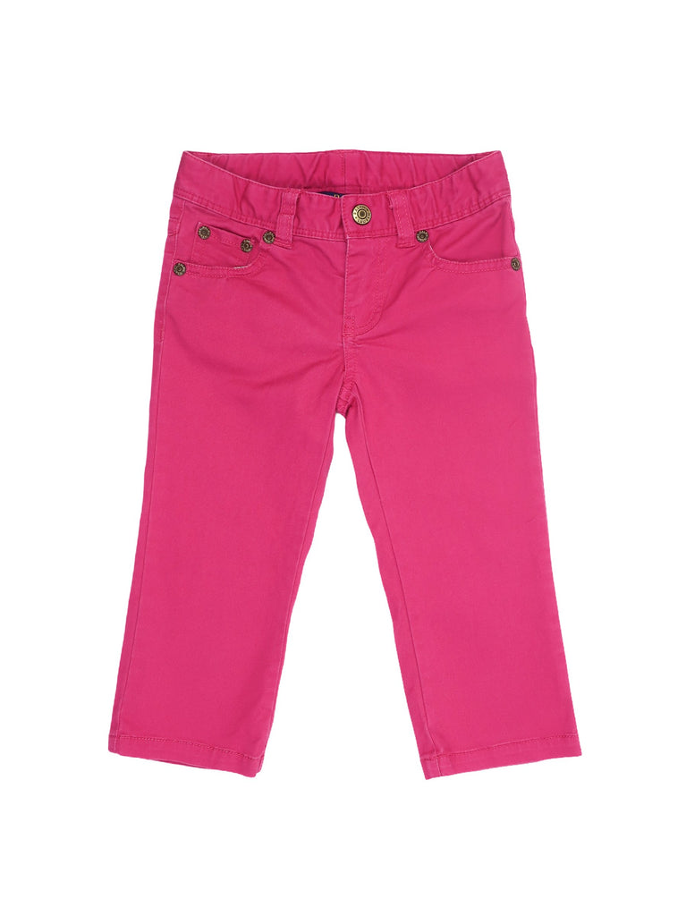 Mini Lama - Pre-loved Pink Trousers 3 years by POLO BY RALPH LAUREN