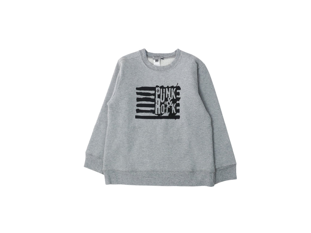 Mini Lama - Pre-loved Grey Sweater 6 years by BONPOINT