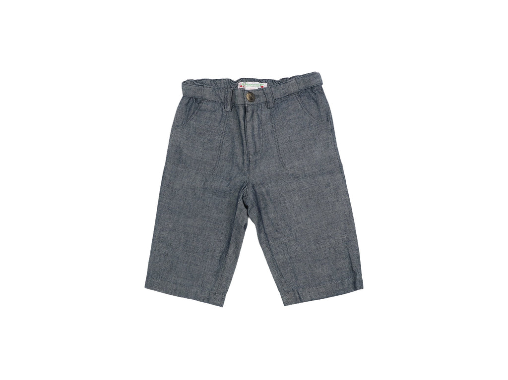 Mini Lama - Pre-loved Blue Trousers 6 months by BONPOINT