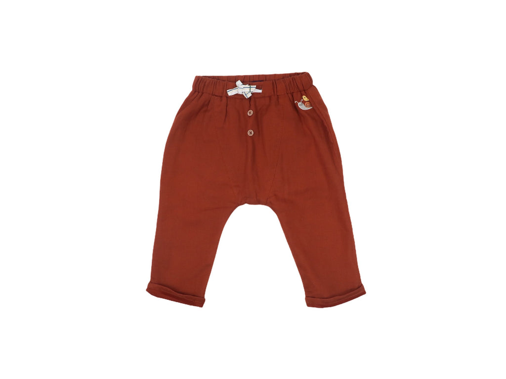 Mini Lama - Pre-loved Red Trousers 9 months by SERGENT MAJOR