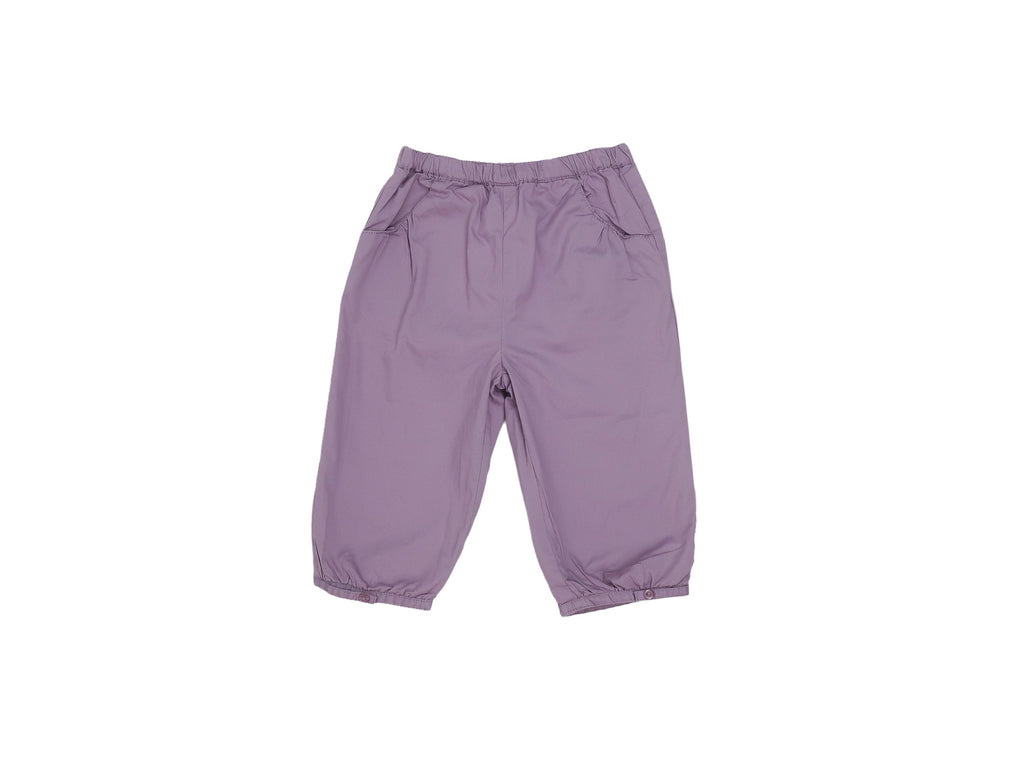 Mini Lama - Pre-loved Purple Trousers 9 months by BOUT'CHOU