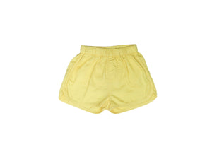 Mini Lama - Pre-loved Yellow Shorts 3 months by SEED