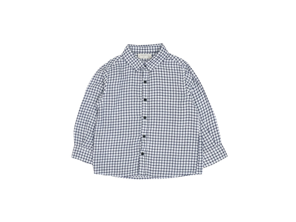 Mini Lama - Pre-loved Blue Shirt 12 months by MANGO