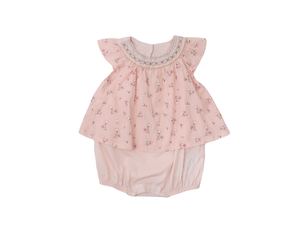 Mini Lama - Pre-loved Pink Romper 12 months by SERGENT MAJOR