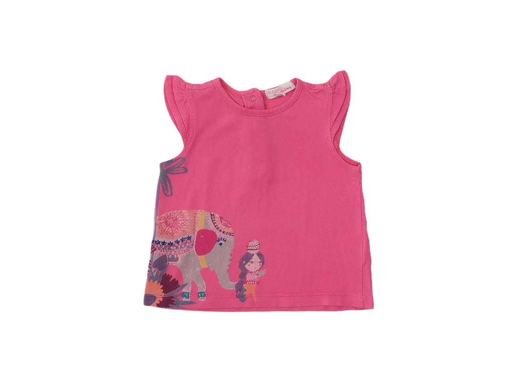 Mini Lama - Pre-loved Pink T-shirt 6 months by DPAM