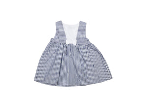 Mini Lama - Pre-loved Blue Dress 9 months by SERGENT MAJOR