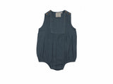 Mini Lama - Pre-loved Green Romper 12 months by LAURE DE SAGAZAN x MONOPRIX