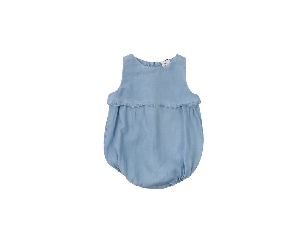 Mini Lama - Pre-loved Blue Romper 12 months by SEED