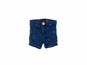 Mini Lama - Pre-loved Blue Shorts 6 months by CATIMINI