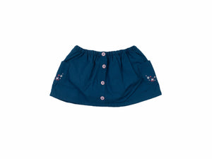 Mini Lama - Pre-loved Green Skirt 9 months by SERGENT MAJOR