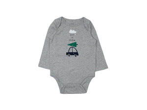 Mini Lama - Pre-loved Grey Bodysuit 12 months by GAP