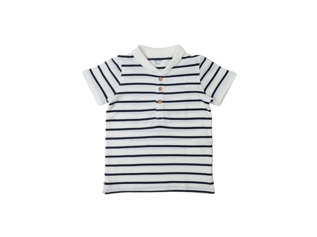 Mini Lama - Pre-loved Blue Polo 18 months by BOUT'CHOU