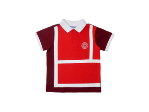 Mini Lama - Pre-loved Multi-colour Polo 6 years by JACADI