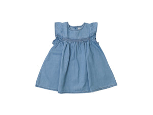 Mini Lama - Pre-loved Blue Dress 9 months by BOUT'CHOU