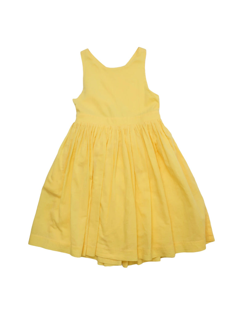 Mini Lama - Pre-loved Yellow Dress 4 years by CHÂTEAU DE SABLE