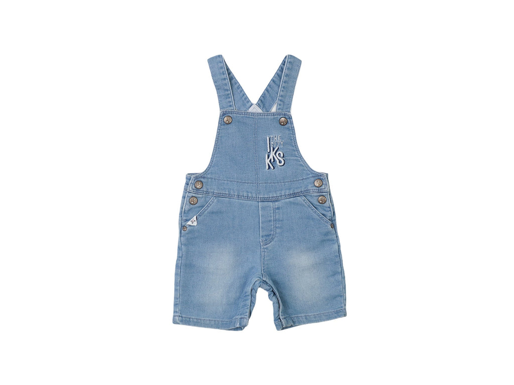 Mini Lama - Pre-loved Blue Overall 12 months by IKKS
