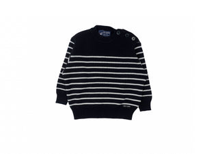 Mini Lama - Pre-loved Blue Sweater 24 months by SAINT JAMES