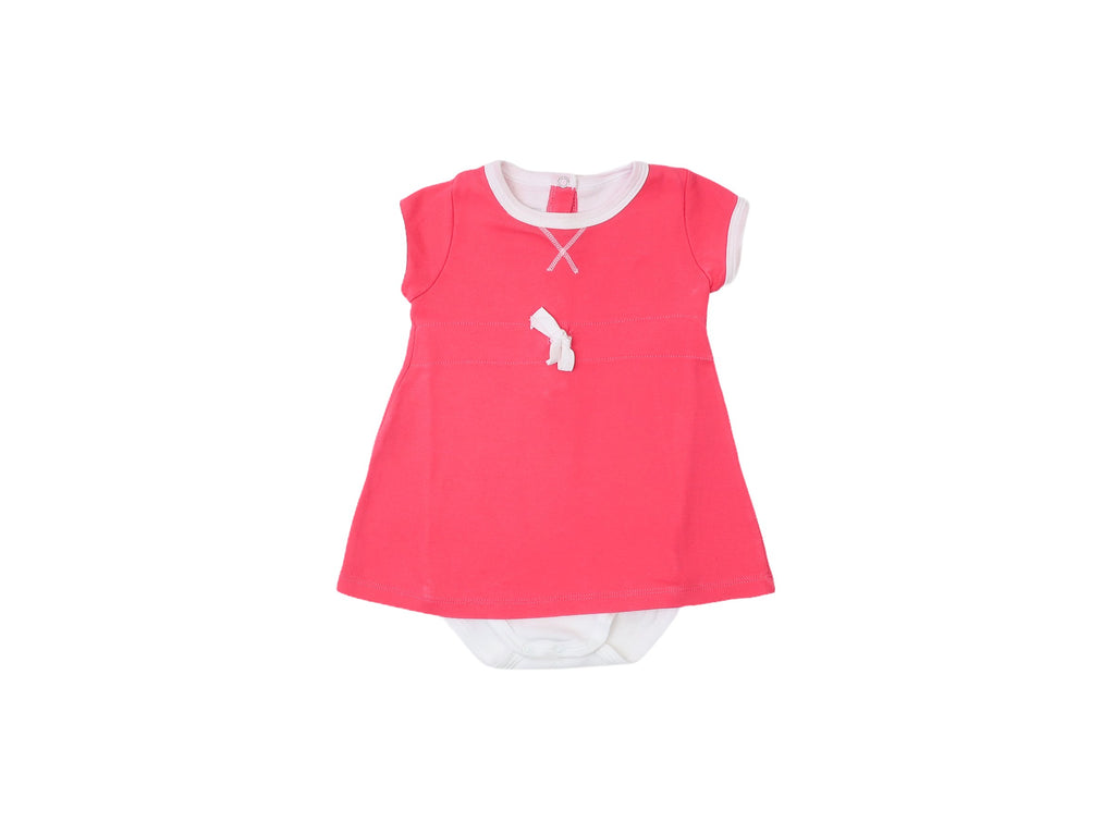 Mini Lama - Pre-loved Pink Dress 6 months by PETIT BATEAU