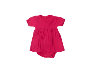 Mini Lama - Pre-loved Purple Dress 6 months by PETIT BATEAU