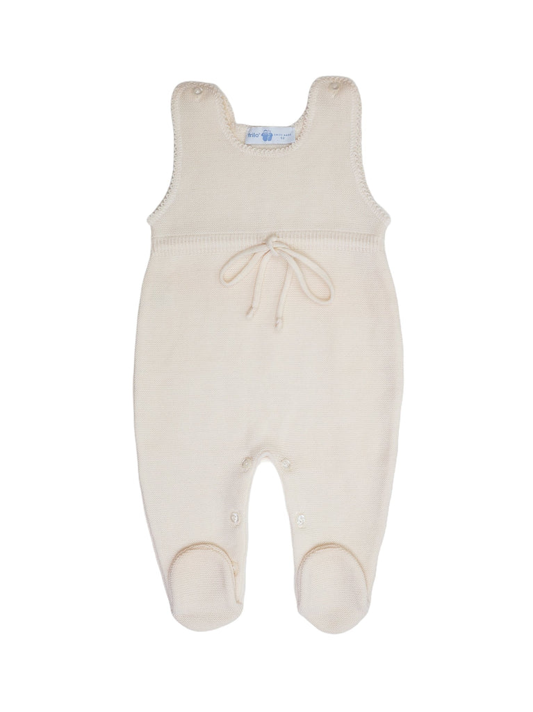 Mini Lama - Pre-loved Beige Jumpsuit 3 months by FRILO