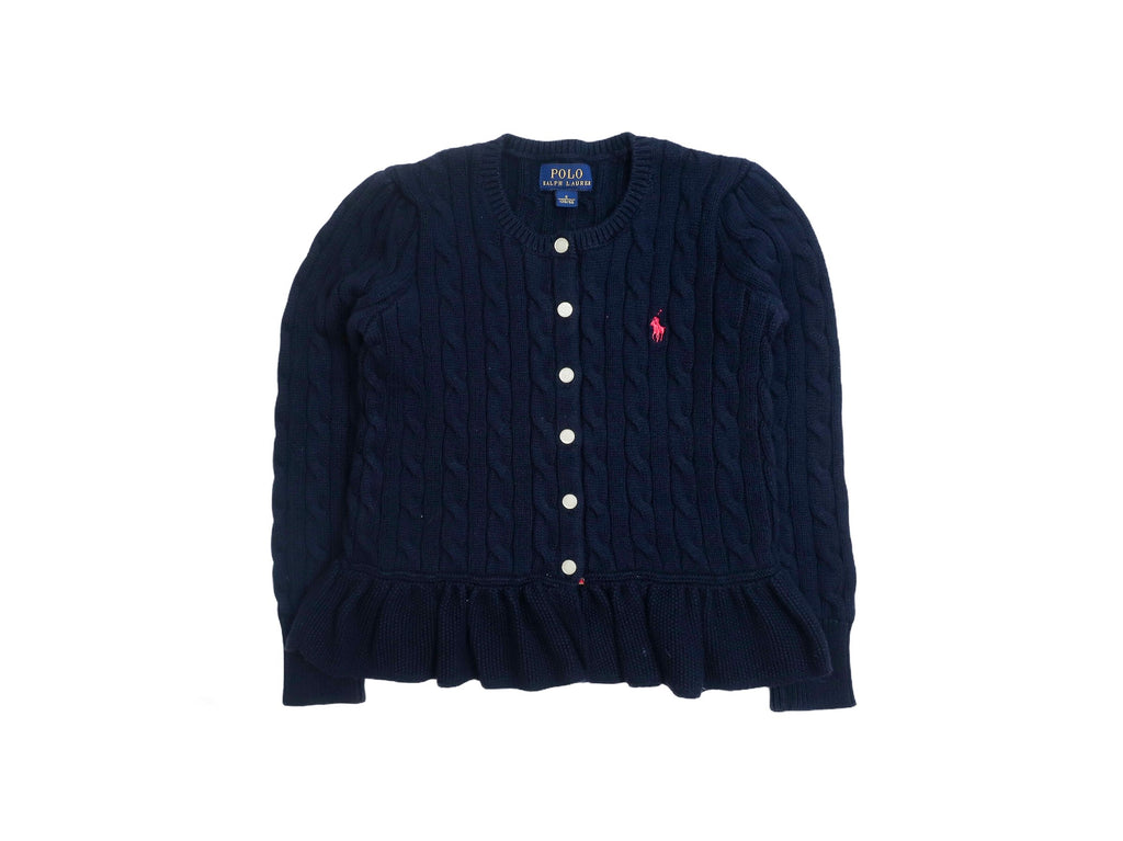 Mini Lama - Pre-loved Blue Cardigan 6 years by POLO BY RALPH LAUREN