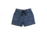 Mini Lama - Pre-loved Blue Shorts 5 years by TEA