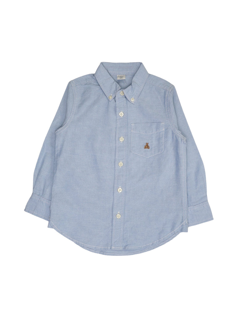 Mini Lama - Pre-loved Blue Shirt 4 years by GAP