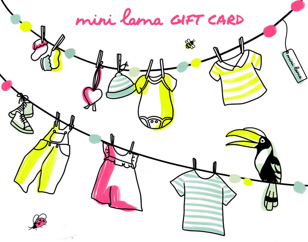 Mini Lama Gift Cards