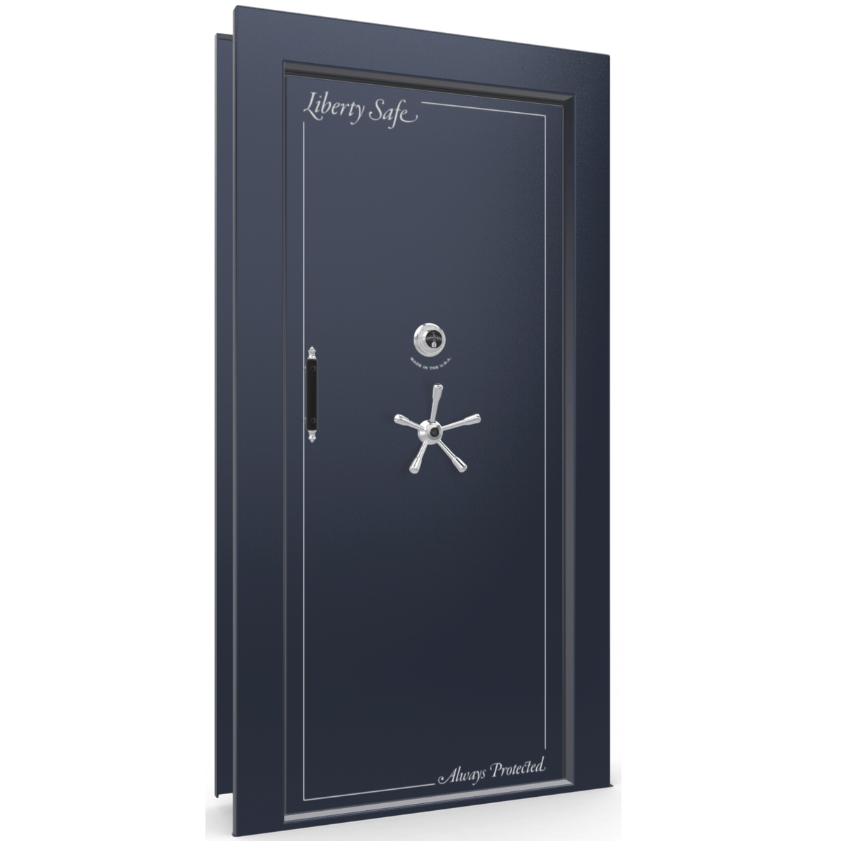 Vault Door Series | In-Swing | Left Hinge | Champagne Gloss | Mechanical Lock